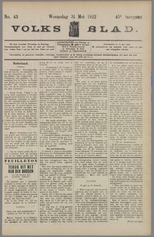Volksblad 1922-05-31