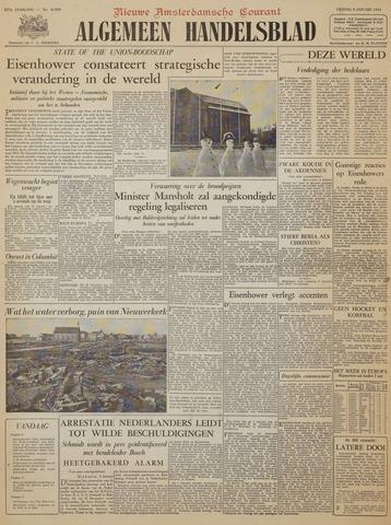 Watersnood documentatie 1953 - kranten 1954-01-08