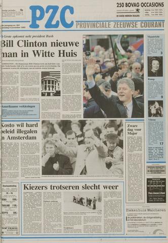 Provinciale Zeeuwse Courant 1992-11-04