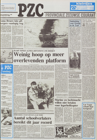 Provinciale Zeeuwse Courant 1988-07-08