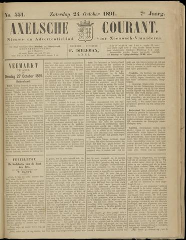 Axelsche Courant 1891-10-24