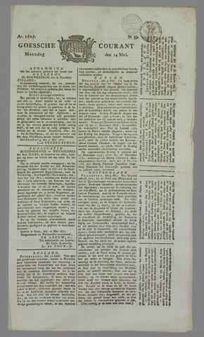 Goessche Courant 1827-05-14