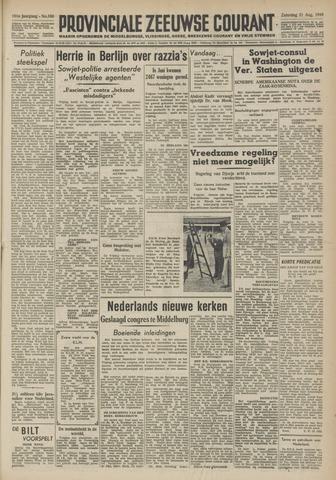 Provinciale Zeeuwse Courant 1948-08-21