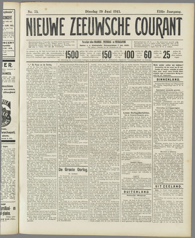 Nieuwe Zeeuwsche Courant 1915-06-29