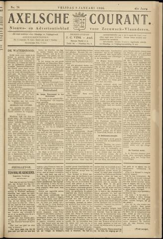 Axelsche Courant 1926-01-08