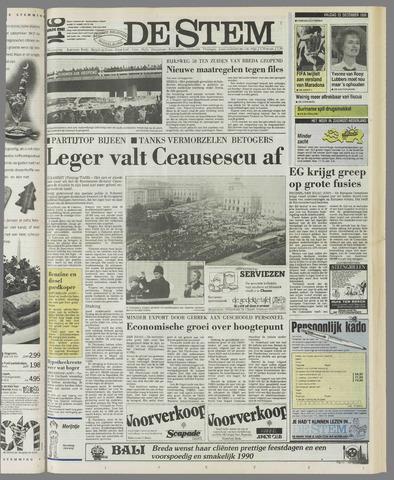de Stem 1989-12-22