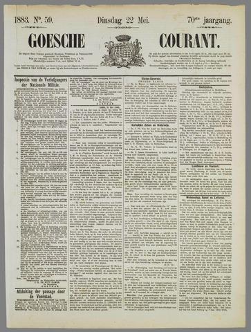 Goessche Courant 1883-05-22