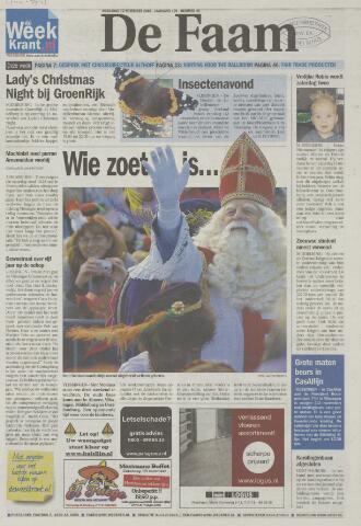 de Faam en de Faam/de Vlissinger 2008-11-12