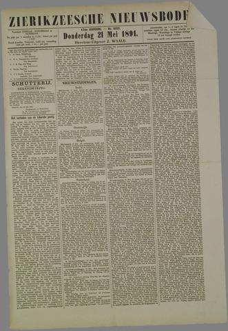 Zierikzeesche Nieuwsbode 1891-05-21