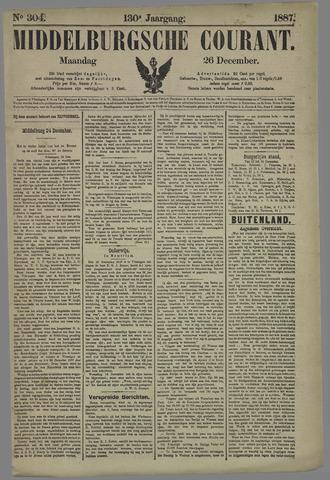 Middelburgsche Courant 1887-12-26