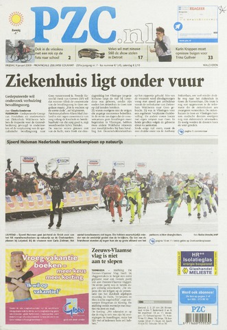 Provinciale Zeeuwse Courant 2009-01-09