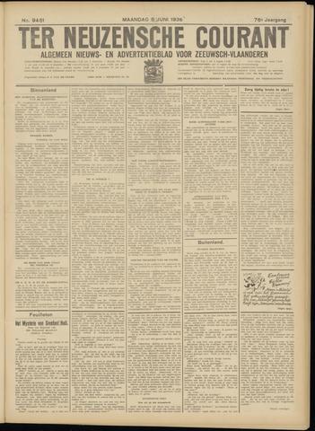 Ter Neuzensche Courant. Algemeen Nieuws- en Advertentieblad voor Zeeuwsch-Vlaanderen / Neuzensche Courant ... (idem) / (Algemeen) nieuws en advertentieblad voor Zeeuwsch-Vlaanderen 1936-06-08