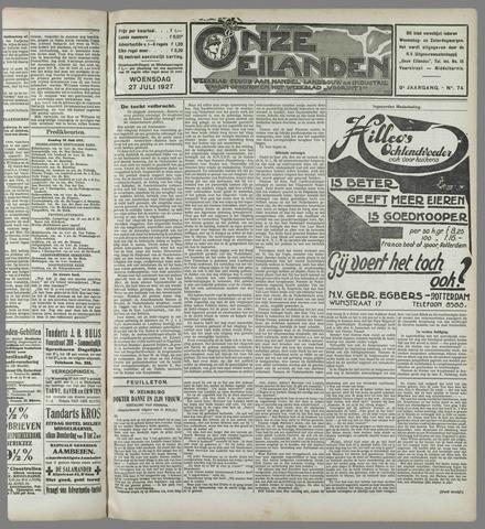 Onze Eilanden 1927-07-27
