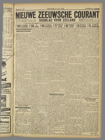 Nieuwe Zeeuwsche Courant 1922-06-14