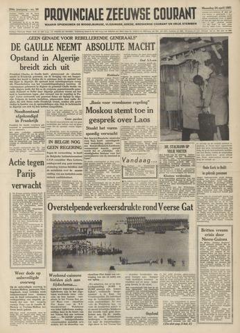 Provinciale Zeeuwse Courant 1961-04-24