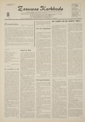 Zeeuwsche kerkbode, weekblad gewijd aan de belangen der gereformeerde kerken/ Zeeuwsch kerkblad 1969-02-06