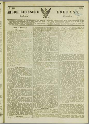 Middelburgsche Courant 1847-12-02