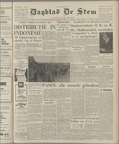 de Stem 1962-04-24