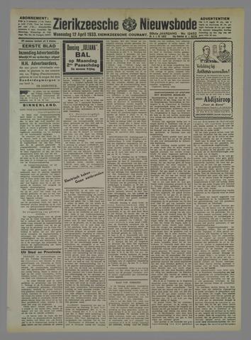 Zierikzeesche Nieuwsbode 1933-04-12