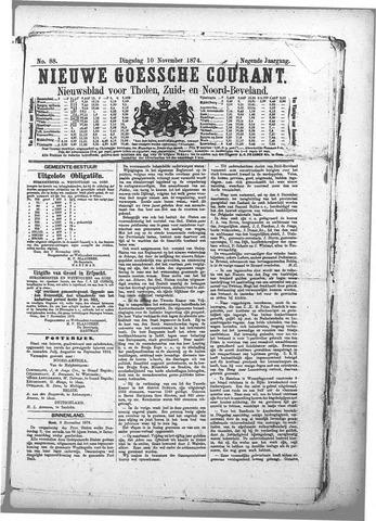 Nieuwe Goessche Courant 1874-11-10