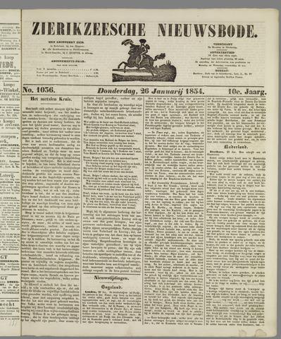Zierikzeesche Nieuwsbode 1854-01-26