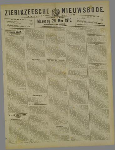 Zierikzeesche Nieuwsbode 1916-05-29