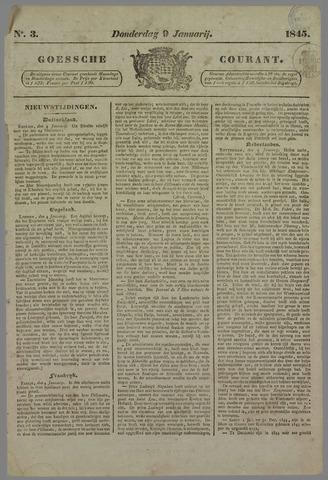 Goessche Courant 1845-01-09
