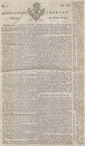 Middelburgsche Courant 1760
