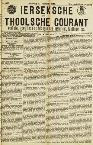 Ierseksche en Thoolsche Courant 1915-02-27