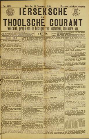 Ierseksche en Thoolsche Courant 1910-11-19