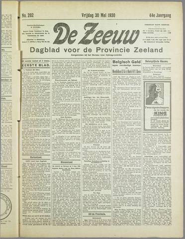 De Zeeuw. Christelijk-historisch nieuwsblad voor Zeeland 1930-05-30