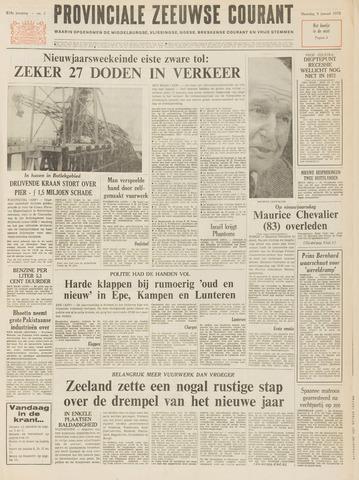 Provinciale Zeeuwse Courant 1972