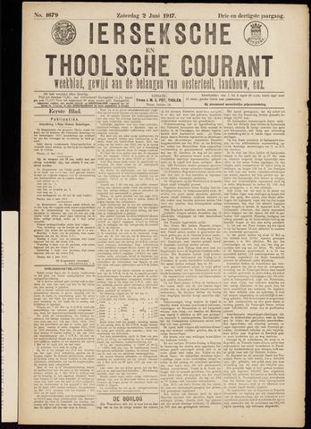 Ierseksche en Thoolsche Courant 1917-06-02
