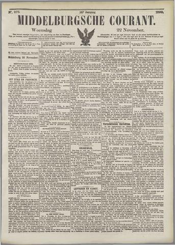 Middelburgsche Courant 1899-11-22