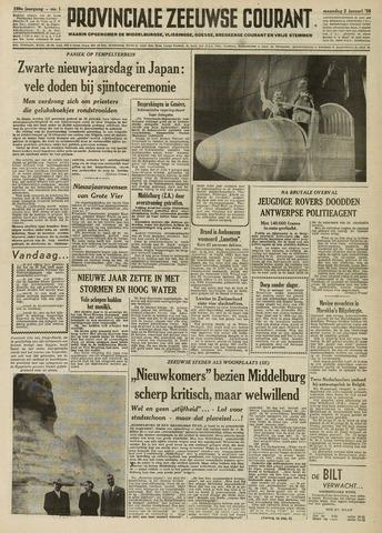Provinciale Zeeuwse Courant 1956