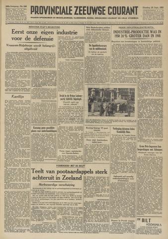 Provinciale Zeeuwse Courant 1951-09-25
