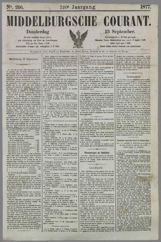 Middelburgsche Courant 1877-09-13