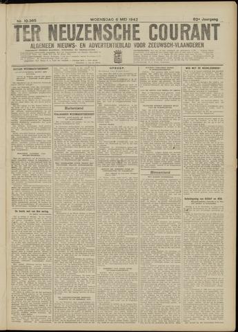 Ter Neuzensche Courant. Algemeen Nieuws- en Advertentieblad voor Zeeuwsch-Vlaanderen / Neuzensche Courant ... (idem) / (Algemeen) nieuws en advertentieblad voor Zeeuwsch-Vlaanderen 1942-05-06