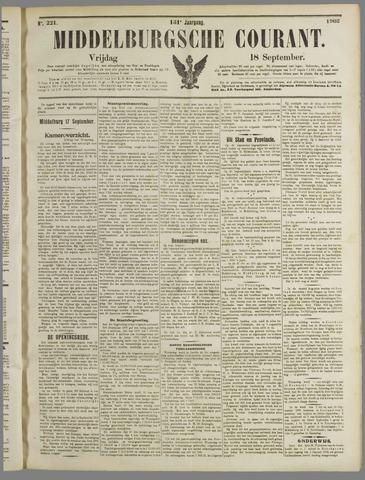 Middelburgsche Courant 1908-09-18