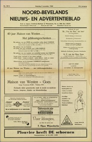 Noord-Bevelands Nieuws- en advertentieblad 1960-11-05
