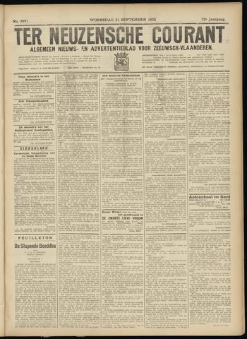 Ter Neuzensche Courant. Algemeen Nieuws- en Advertentieblad voor Zeeuwsch-Vlaanderen / Neuzensche Courant ... (idem) / (Algemeen) nieuws en advertentieblad voor Zeeuwsch-Vlaanderen 1932-09-21