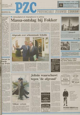 Provinciale Zeeuwse Courant 1993-03-26