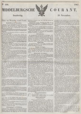 Middelburgsche Courant 1867-11-28