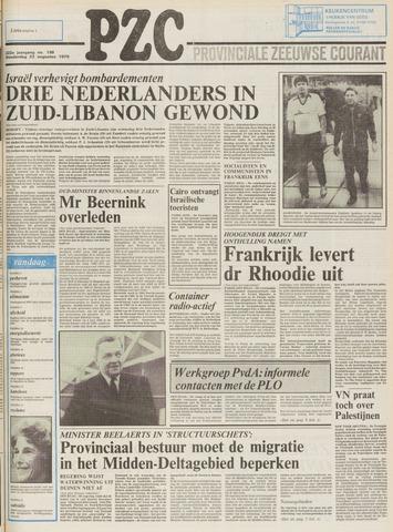 Provinciale Zeeuwse Courant 1979-08-23