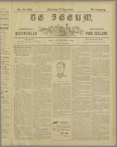 De Zeeuw. Christelijk-historisch nieuwsblad voor Zeeland 1901-12-14