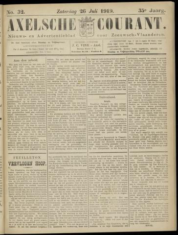 Axelsche Courant 1919-07-26