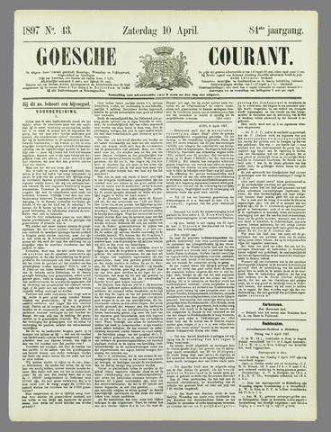 Goessche Courant 1897-04-10