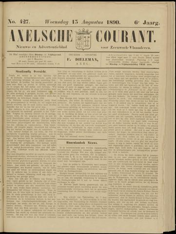 Axelsche Courant 1890-08-13