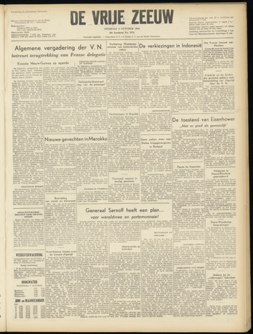 de Vrije Zeeuw 1955-10-04
