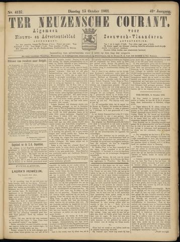 Ter Neuzensche Courant. Algemeen Nieuws- en Advertentieblad voor Zeeuwsch-Vlaanderen / Neuzensche Courant ... (idem) / (Algemeen) nieuws en advertentieblad voor Zeeuwsch-Vlaanderen 1901-10-15